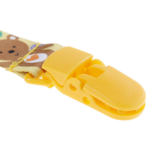 1Pc Newborn baby pacifier clips chain strap soother dummy nipple holder FO VQ