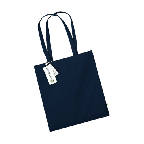 Westford Mill Earthaware Organic Bag for Life Navy available Black W801