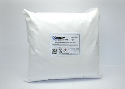 Sodium Carbonate Fine Powder 1kg - Soda Ash Light
