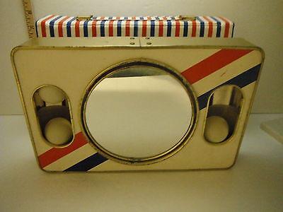 Vintage 1970's Brytone Portable Make-up Camp  E-36161 Neat Mod Glo