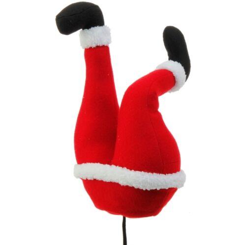 "RED WHITE 14/"" SANTA BUTT 3616424 Raz Imports Christmas Tree Decor Mantle NEW"