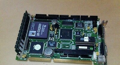 1pc Used PCA-6145B//45L 486 INDUSTRIAL CPU CARD REV.C1  industrial Mainboard