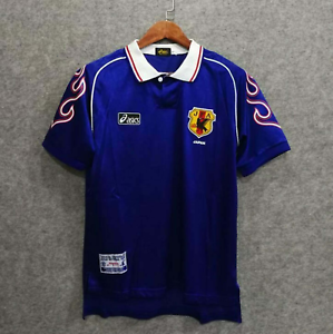 Japan World Cup 1998 NAKATA Home Retro Jersey Soccer Shirt 1998