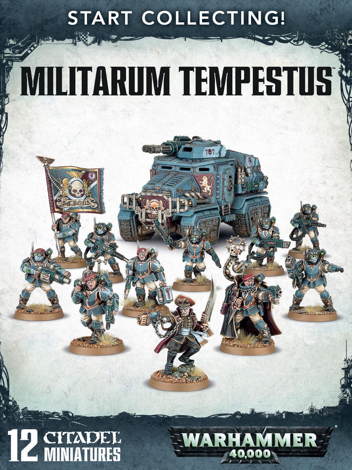 Estrellat Collecting  Militarum Tempestus Scions Warhammer 40k nuovo  qualità di prima classe