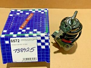 NOS Yamaha FZR600 1989-1993 Ignition Switch VIC-6572 4 Wire 2 Plug