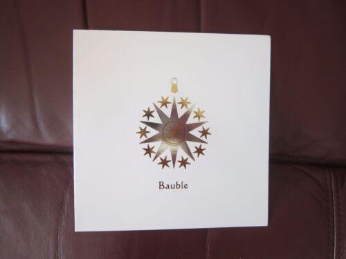 2 Designs Santa/'s Friend /& Shiny Bauble 20 Luxury Christmas Cards /& Envelopes