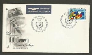 UNITED-NATIONS-GENEVA-1970-DEFINITIVE-FIRST-DAY-COVER