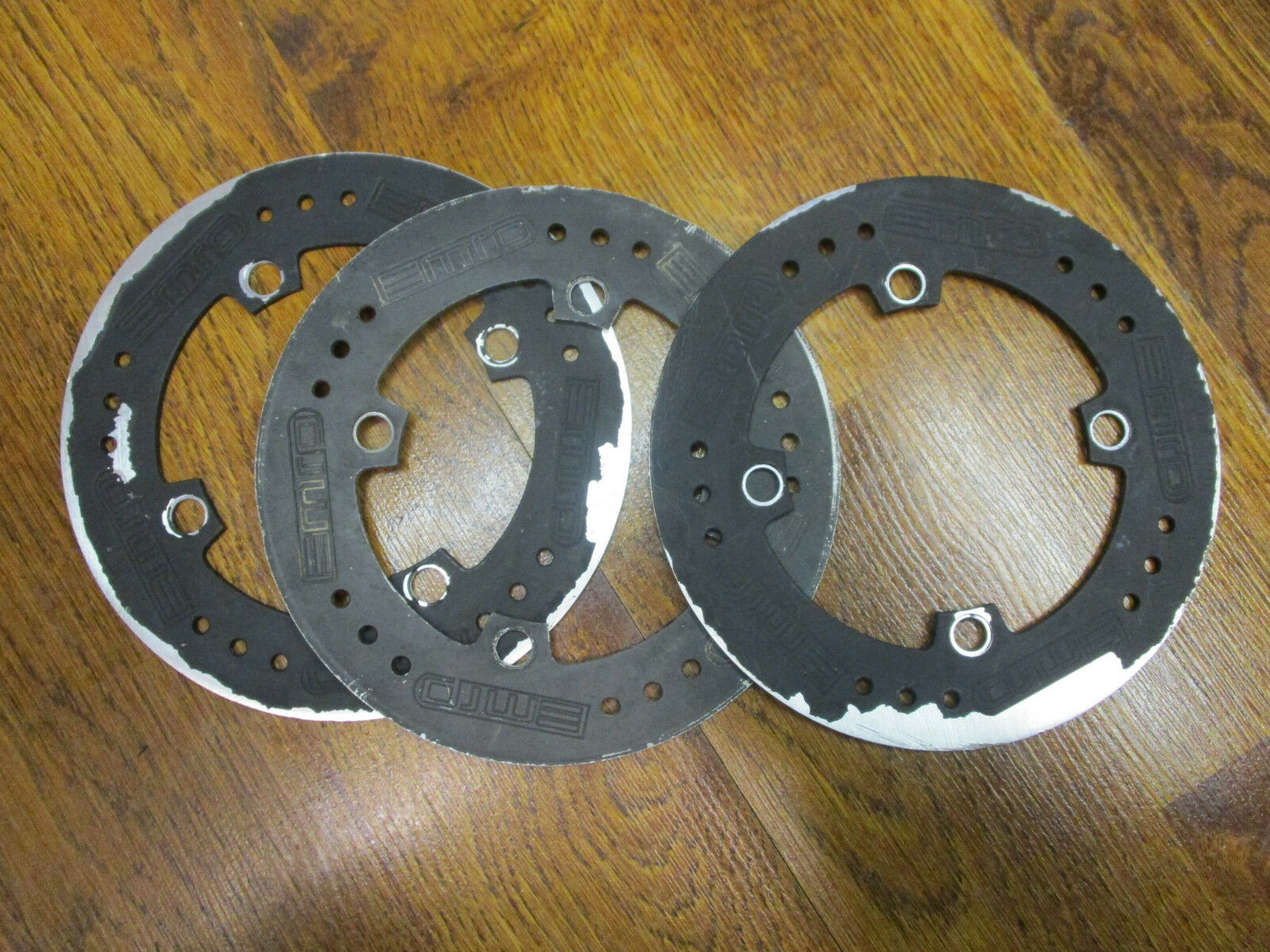 MPR  MOUNTAIN SPEED 4 BOLT 104 BCD 38T CHAIN RING BASH GUARD LOT (3)  save 50%-75%off