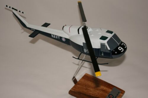 RAN IROQUOIS HELICOPTER LARGE 148 SCALE HANDCRAFTED DESK MODEL