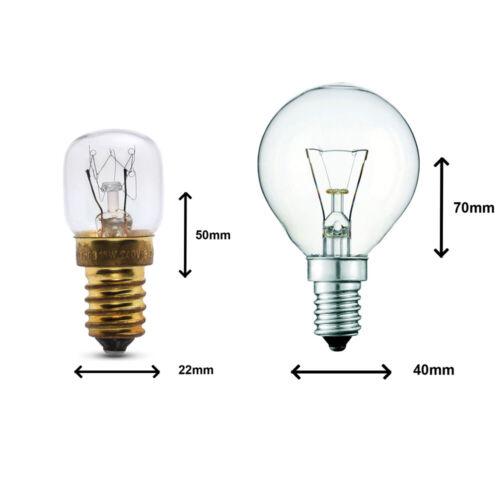 Hotte Cuisinière Ampoules Eveready Marque 15w//25w//40w Four Lampes 300° Heat