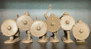 Prikaz jouet soldats Vikings Mur de boucliers 1:32 plastique souple