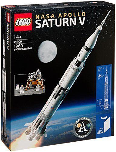 Lego Ideas Apollo de la NASA Saturno V 21309