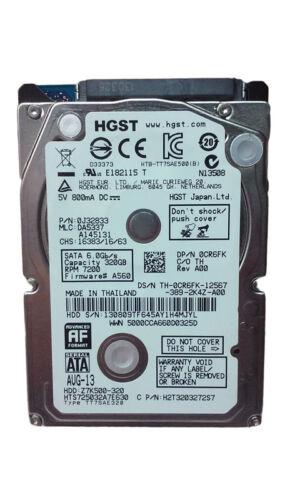 "HGST TravelStar Z7K500 HTS725032A7E630 320GB 2.5/"" SATA III Laptop Hard Drive"