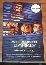PHILIP K DICK A Scanner Darkly FINE L/N Vintage STEPHEN SODERBERGH Keanu Reeves+