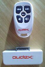 NEW Burton White Audex Water Resistant RF Remote Control for Apple iPod