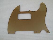 MATTE GOLD PLASTIC PICKGUARD for FENDER TELECASTER / HUMBUCKER