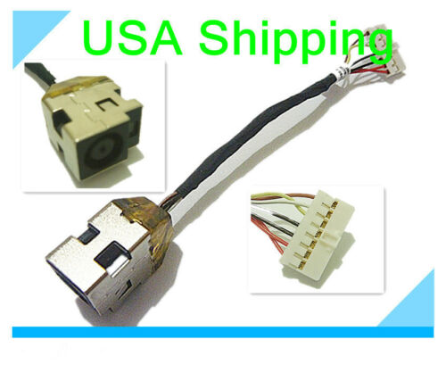 DC Power Jack in cable harness for HP Pavilion G6 G6T series  6017B0295401