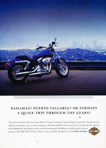 Vintage Advertisement Ad A35-B trip gears 2006 Harley Davidson Motorcycle