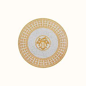 Hermes-Mosaique-Au-24-Or-Plat-a-Dessert-Hermes-Mosaique-Au-24-Or-026007P