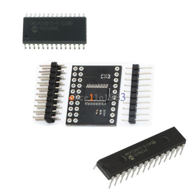 1PCS MCP23017 DIP SOP Bidirectional 16-Bit I//O Expander I2C IIC Serial Interface