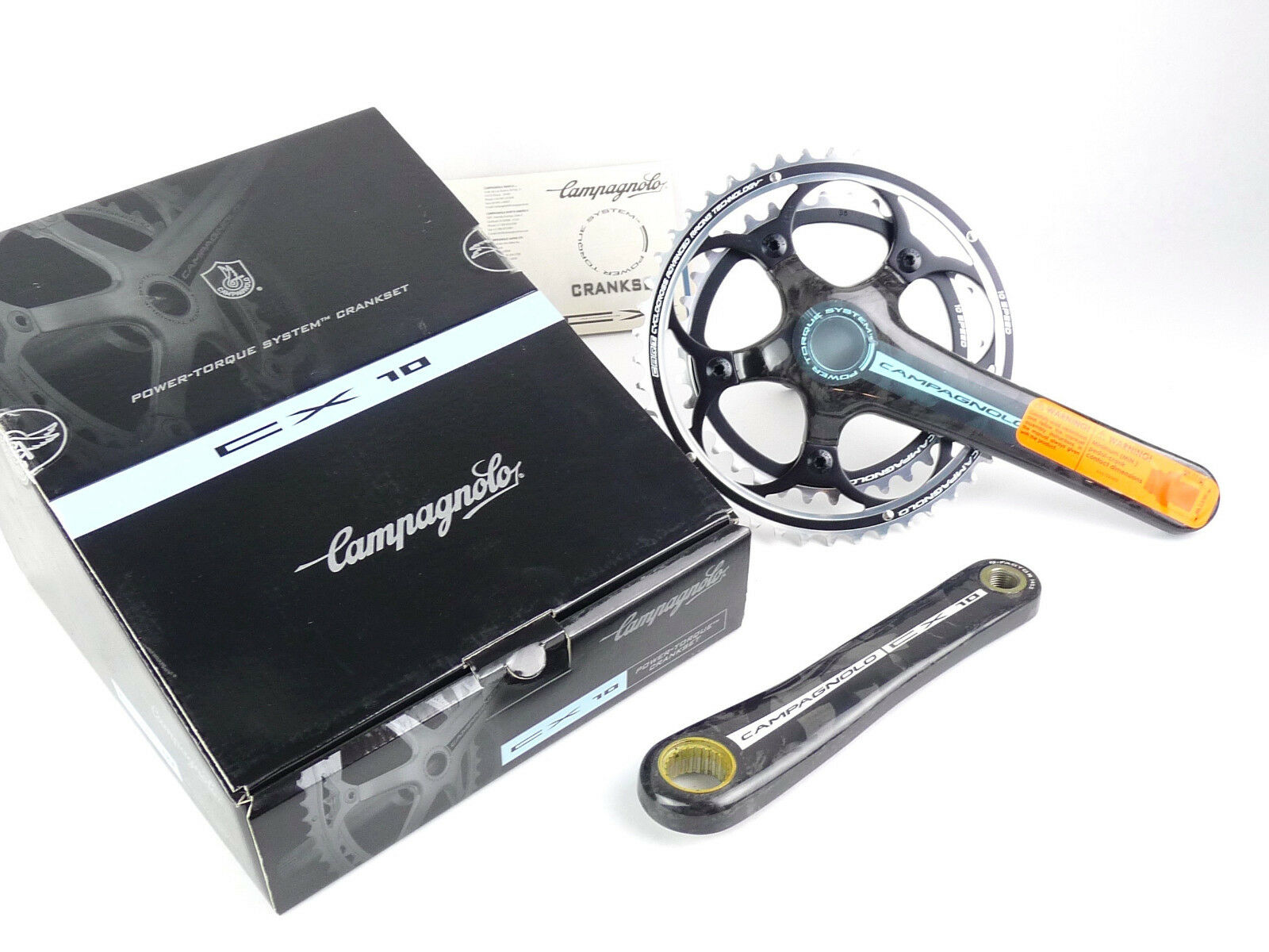 Campagnolo CX Carbon Crankset 170mm 46 36 10 Speed Cyclocross NEW