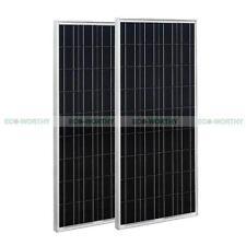 200W Solar Panel 2*100W PV Solar Panel for RV Caravan Boat 12V Battery Charger