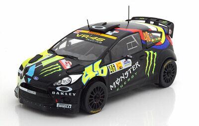 1:18 Ixo Ford Fiesta Rs Wrc Winner Rally Monza Rossi/cassina 2012-mostra Il Titolo Originale
