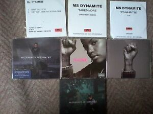 MS DYNAMITE 4 PROMOS CD SINGLES - <span itemprop='availableAtOrFrom'>Dewsbury, West Yorkshire, United Kingdom</span> - MS DYNAMITE 4 PROMOS CD SINGLES - Dewsbury, West Yorkshire, United Kingdom