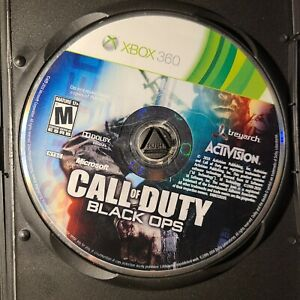 Call of Duty Black Ops Microsoft Xbox 360 2010 M-Mature Disc Only Tested/Working