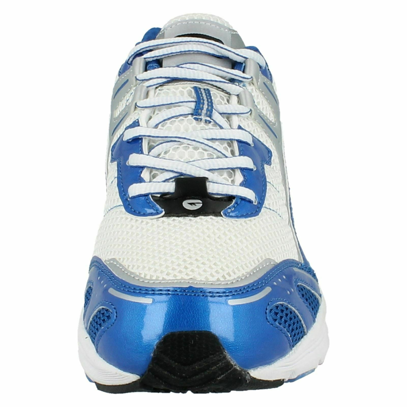 MENS HI TEC LIGHTWEIGHT LACE UP RUNNING GYM SPORTS TRAINERS - DASH SIZE 7
