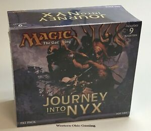 MTG-Magic-Journey-Into-Nyx-Fat-Pack-NEW-Includes-9-Booster-Packs
