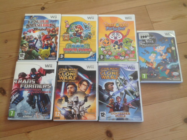 Diverse, Nintendo Wii, Tamagotchi Party On! Flot og…