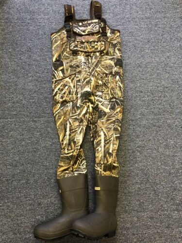 New 5mm Kobuk Max-5 Camo Neoprene Hunting Wader Lug Size 13 KING 1600 Gram