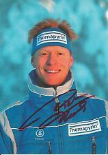Autogramm Dieter Thoma Skisprung Skispringen Olympiasieger Thomaphyrin