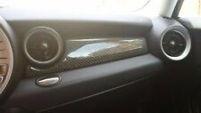 MINI Cooper CARBON FIBER DASH INTERIOR TRIM 07 08 09 10 11 12 13 R55 R56 R57 JCW