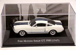 Altaya-1-43-Ford-Mustang-Shelby-GT-350-H-1965-Moule-Sous-Pression-Modeles-de-voitures-COLLECTION-IXO