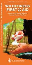 Wilderness First Aid - Camping Survival Outdoor Guide Book Bug Out Bag Kit