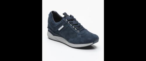 43 Scarpe Pelle Klein Calvin Blu Scamosciata Uomo Taglia Lam Sneakers FfzBw6