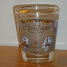 Lighthouses of the Chesapeake Maryland souvenir shot glass