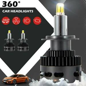 2X-Voiture-50W-18000LM-H7-LED-Reconstruction-Phare-KIT-6500K-Ampoules-Xenon-G