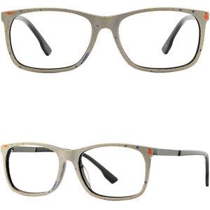 3192e073fed Image is loading Rectangle-Mens-Womens-Acetate-Frame-Jeans-Plastic-Eyeglass-