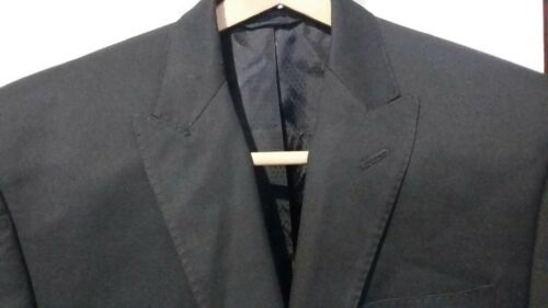 Top SEAN JOHN Fine Clothing 2BTN Men's Black Suit Jacket Size 36R Superfine! free shipping SZM4ikme