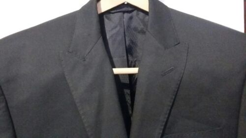 Top SEAN JOHN Fine Clothing 2BTN Men's Black Suit Jacket Size 36R Superfine! free shipping