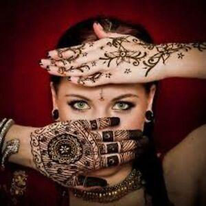 Super Fast Black Color Golecha Henna Tattoo Mendhi Tubes Fast