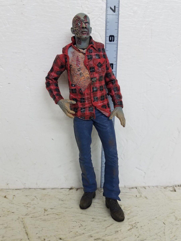 Neca Cult Classics Plaid Shirt Zombie Figure loose