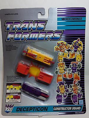 TRANSFORMERS Microcombiner - Decepticon - CONSTRUCTOR SQUAD  *** NEW****