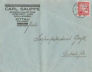 Briefumschlag-Jahr-1925-verschickt-von-Zittau-nach-Eibau-Sachsen