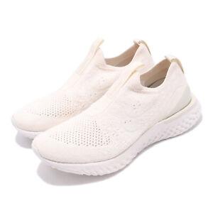 b20933451 Nike Wmns Epic Phantom React FK Flyknit Light Cream Women Shoes ...