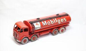 DINKY 504/941 FODEN Cisterna Mobilgas-BUONO MODELLO VINTAGE ORIGINALE