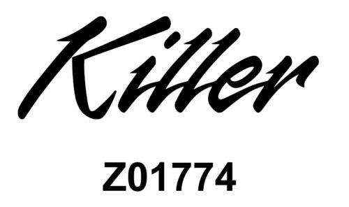 STICKER AUTOCOLLANT  KILLER TUEUR KILL STICKERS VYNIL VOITURE TUNING PAREBRISE